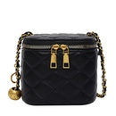 Fashion lingge chain shoulder messenger small square bag wholesale NHLH341007