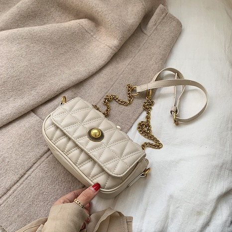 Petit sac à bandoulière en fil de broderie carré à chaîne rétro en gros NHLH341009's discount tags