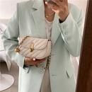 Fashion shoulder messenger chain semicircle small bag wholesale NHLH341016