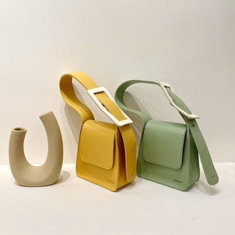Mode Süßigkeiten Farbe quadratische Schnalle tragbare Tasche Großhandel NHLH341023's discount tags