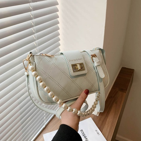 Mode koreanischen Stil Perle Raute Stickerei Faden quadratische Tasche NHLH341031's discount tags