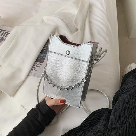 Petit sac carré portable de messager d'épaule de chaîne de mode en gros NHTG341091's discount tags