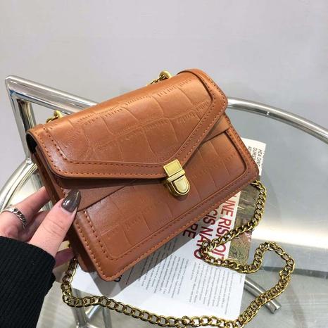 Mode prägen Schulter Messenger kleine quadratische Tasche Großhandel NHXC341217's discount tags