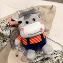 Cartoon flannel animal shape messenger bag wholesale NHXC341219