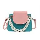korean fashion thick chain simple contrast color bag  NHRU341228