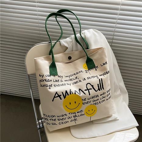 Mode Schulter große Kapazität Graffiti Leinwand Tasche Großhandel NHXC341246's discount tags
