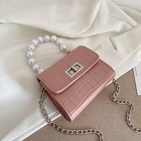 Chaîne de mode messenger jelly couleur épaule petit sac carré gros NHXC341251's discount tags