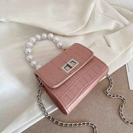 Modekette Messenger Gelee Farbe Schulter kleine quadratische Tasche Großhandel NHXC341251's discount tags