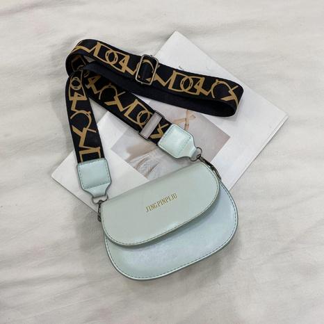Petit sac carré de messager d'épaule de couleur unie de mode en gros NHXC341269's discount tags