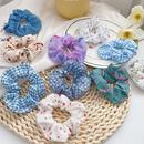 Fashion floral cloth hair scrunchies wholesale NHWB341466