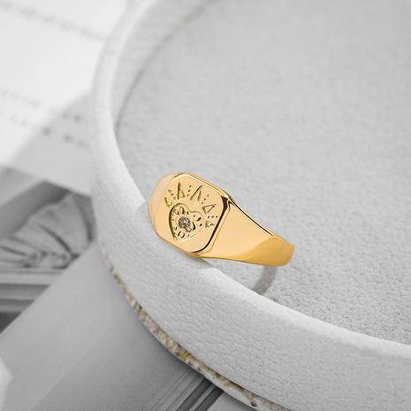Mode Teufel Auge Strass glänzende Legierung Ringe Großhandel NHLL341487's discount tags