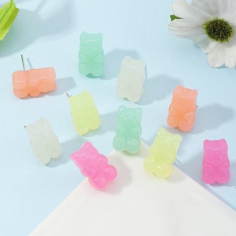 Boucles d'oreilles ours mignon en résine NHNZ341513's discount tags