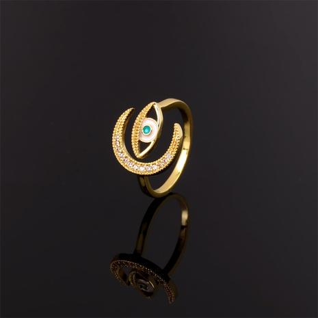 Großhandel einfache Zirkon Auge Mond Ring Großhandel NHPY341599's discount tags