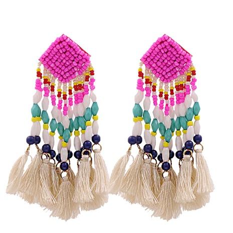 Mode Baumwolle Quaste lange Ohrringe Großhandel NHJJ341747's discount tags