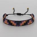 Bohemian Miyuki bead woven gradient beaded bracelet wholesale NHGW341786