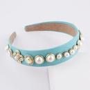 New Baroque diamondstudded pearl headband NHWJ341910