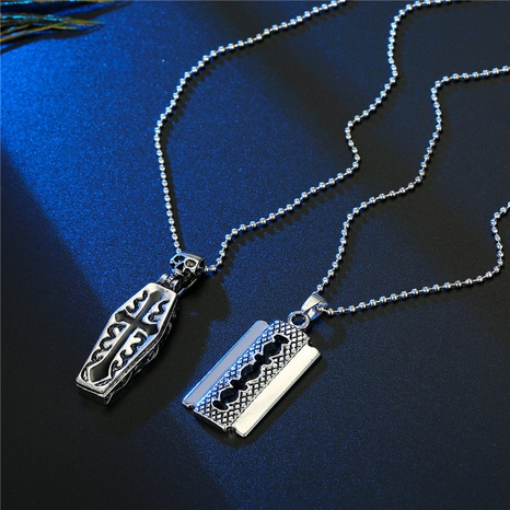 Vintage Gothic Creative Openable Kreuz Halskette NHGO341974's discount tags