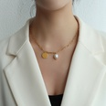 NHOK1587405-Golden-Freshwater-Pearl-Necklace-40+5cm