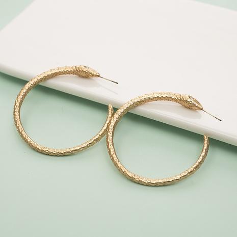 Mode großen Kreis schlangenförmige Diamantohrringe Großhandel NHQIY342168's discount tags