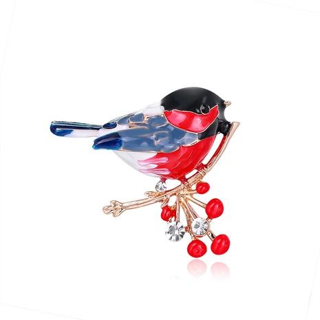 Mode Vogel Tier Legierung tropfen Diamant Brosche Großhandel NHDR342198's discount tags