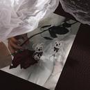 Korean transparent bear resin earrings wholesale NHMS342308