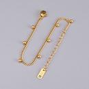 Korean Titanium Steel Single Layer Bracelet Wholesale NHAB342440