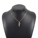 collier  pendentif en forme de serpent en diamant NHMD342478