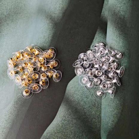 Tapones de plástico de disco de oro y plata de moda al por mayor NHOM342539's discount tags