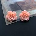 NHOM1589506-Pink-Silver-Needle-Stud-Earrings-2.9CM