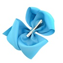 Candy Color 8 Inch Childrens Bowknot Alice Flower Hairpin set NHMO342796