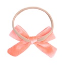 new style fashion pure color nylon bow hairpin set NHMO342819