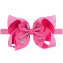 new fashion style solid color bow hairband set  NHMO342826