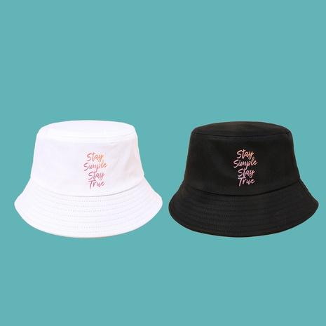 Sombrero de pescador salvaje simple de letra de moda coreana NHAMD343050's discount tags
