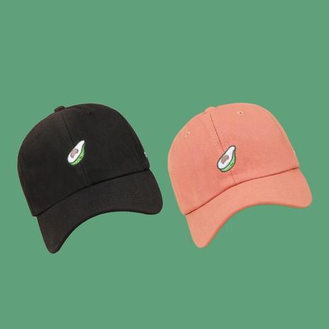 moda coreana nuevo estilo sombrero naranja gorra de béisbol de aguacate NHAMD343049's discount tags
