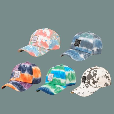nueva gorra de teñido anudado de moda de estilo coreano NHAMD343055's discount tags