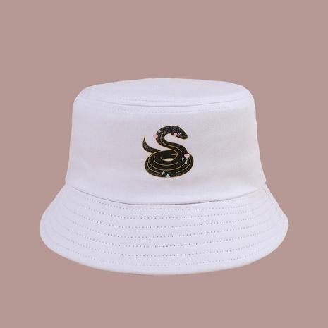 Sombrero de pescador de serpiente de amor de moda coreana NHTQ343189's discount tags