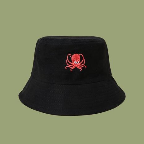 Sombrero de pescador de pulpo bordado estilo de moda coreana NHTQ343185's discount tags