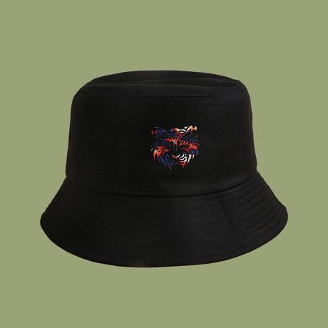 Sombrero de pescador de cabeza de tigre de moda coreana NHTQ343184's discount tags