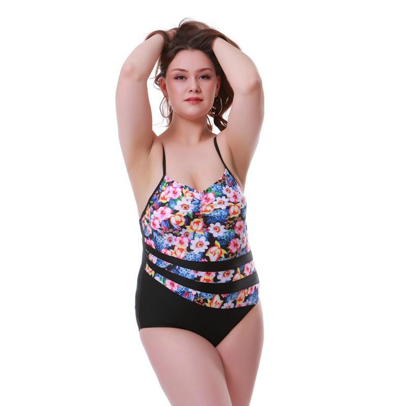 nouvelle mode sexy impression bikini une pice floral NHHL343263
