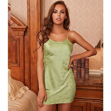 Pijamas de seda con estampado de fresa de seda de seda de hielo de moda al por mayor NHJO343280's discount tags