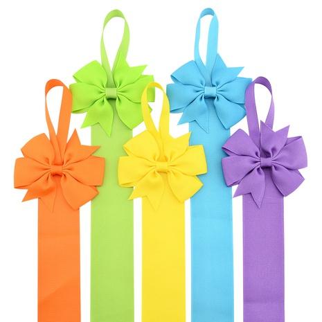 neues einfarbiges geripptes Stirnband für Kinder im koreanischen Stil NHMO343901's discount tags
