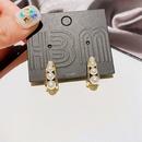 French romantic fashion pearl earrings  NHCG343928