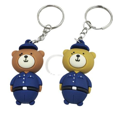 Porte-clés en alliage de poupée pendentif ours de mode en gros NHDI343991's discount tags