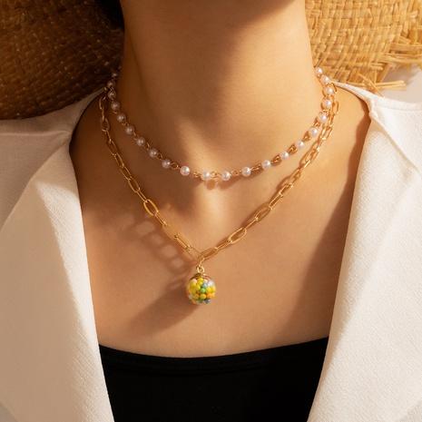 collar de perlas estilo palacio creativo NHGY344037's discount tags