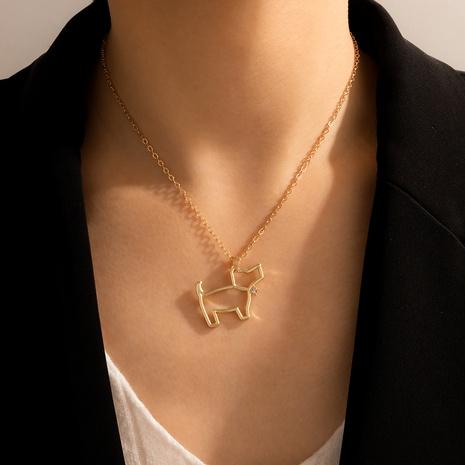 lindo collar con colgante de perro mascota de estilo de moda NHGY344039's discount tags