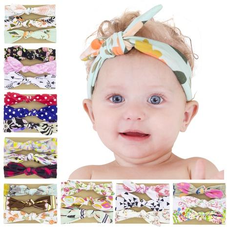 koreanische niedliche Art einfarbig Kinderbogen Stirnband Set NHWO344002's discount tags