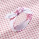 korean cute style solid color childrens bow headband set NHWO344002