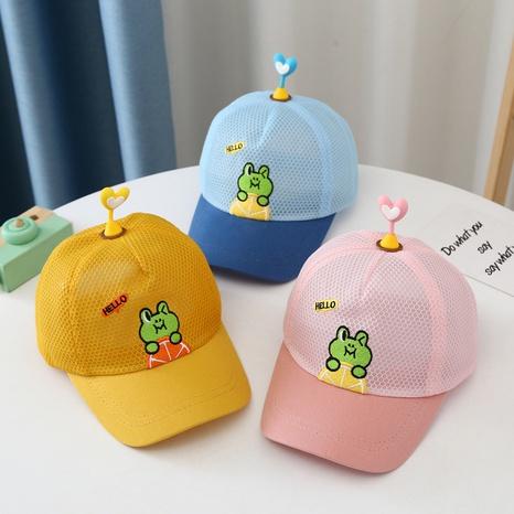 Casquette en maille respirante Summer Frog Ombre Casquette pour enfants NHTQ344222's discount tags