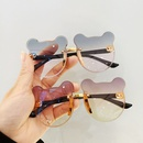 childrens cute korean polarized UV protection cartoon cute bear sunglasses NHBA344279