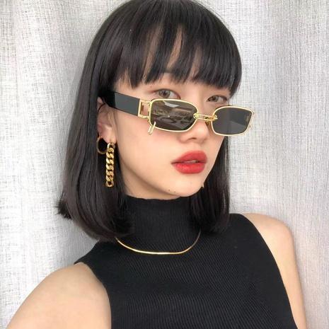nouvelles lunettes de soleil à monture de style simple NHLMO344402's discount tags